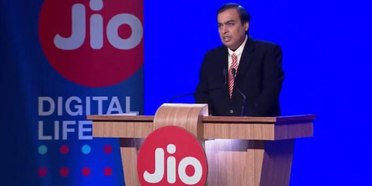 jio india intel purchase Mukesh Amban